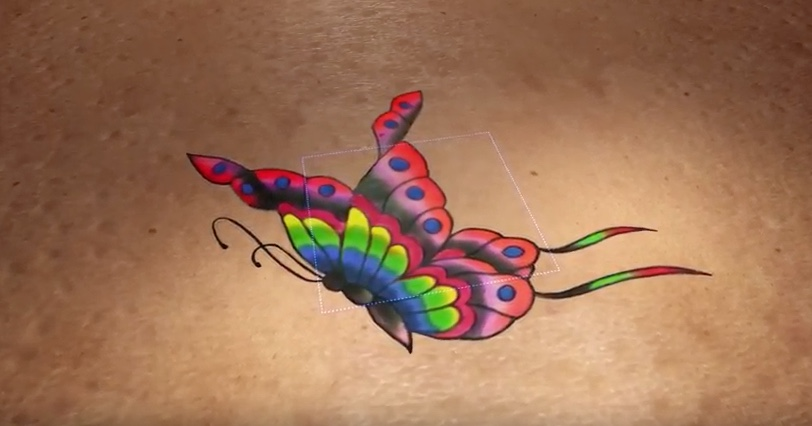 YouTube Video Animation Tattoo Entfernung